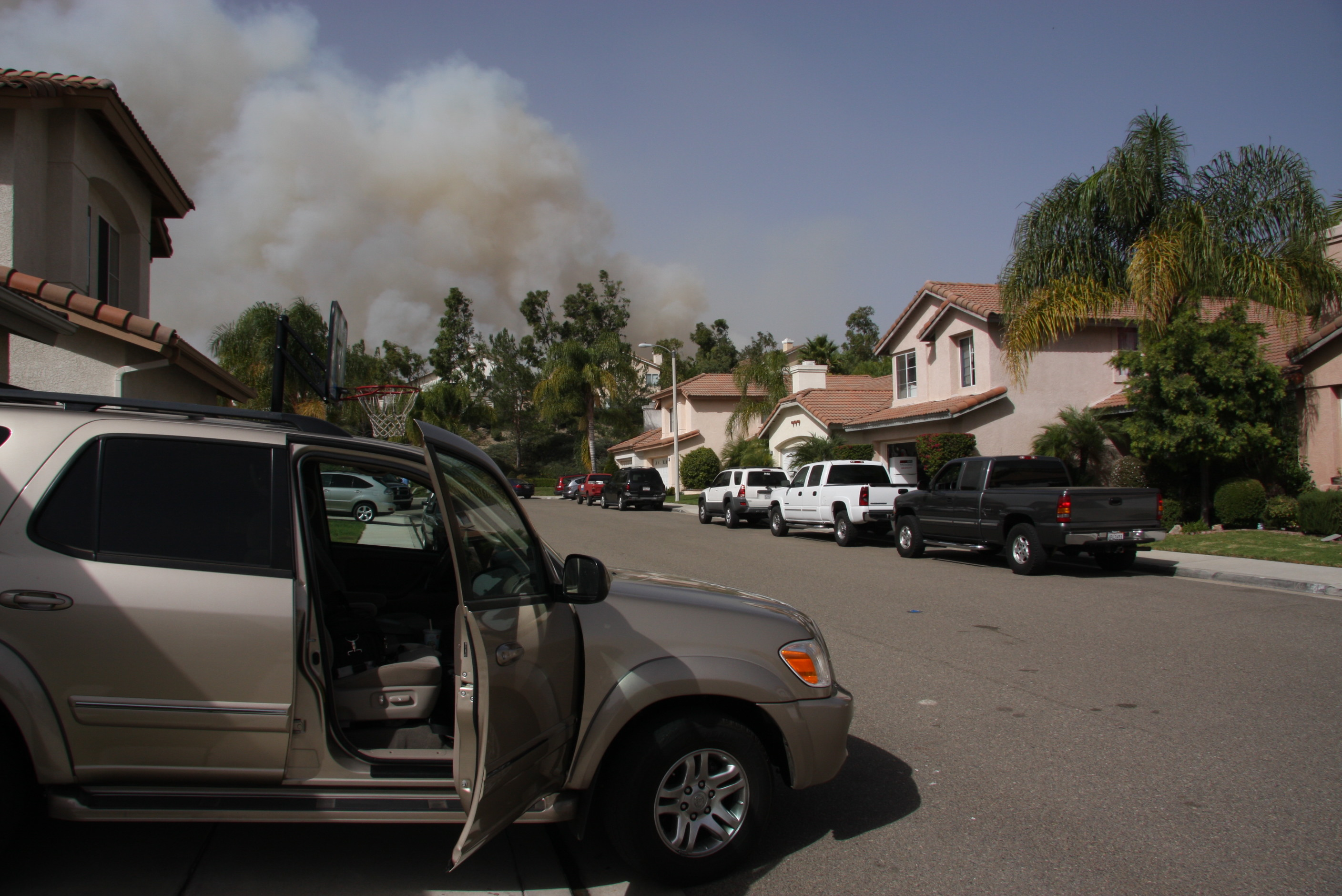 Foothill Ranch outside John Walcher's house 1pm Oct 22